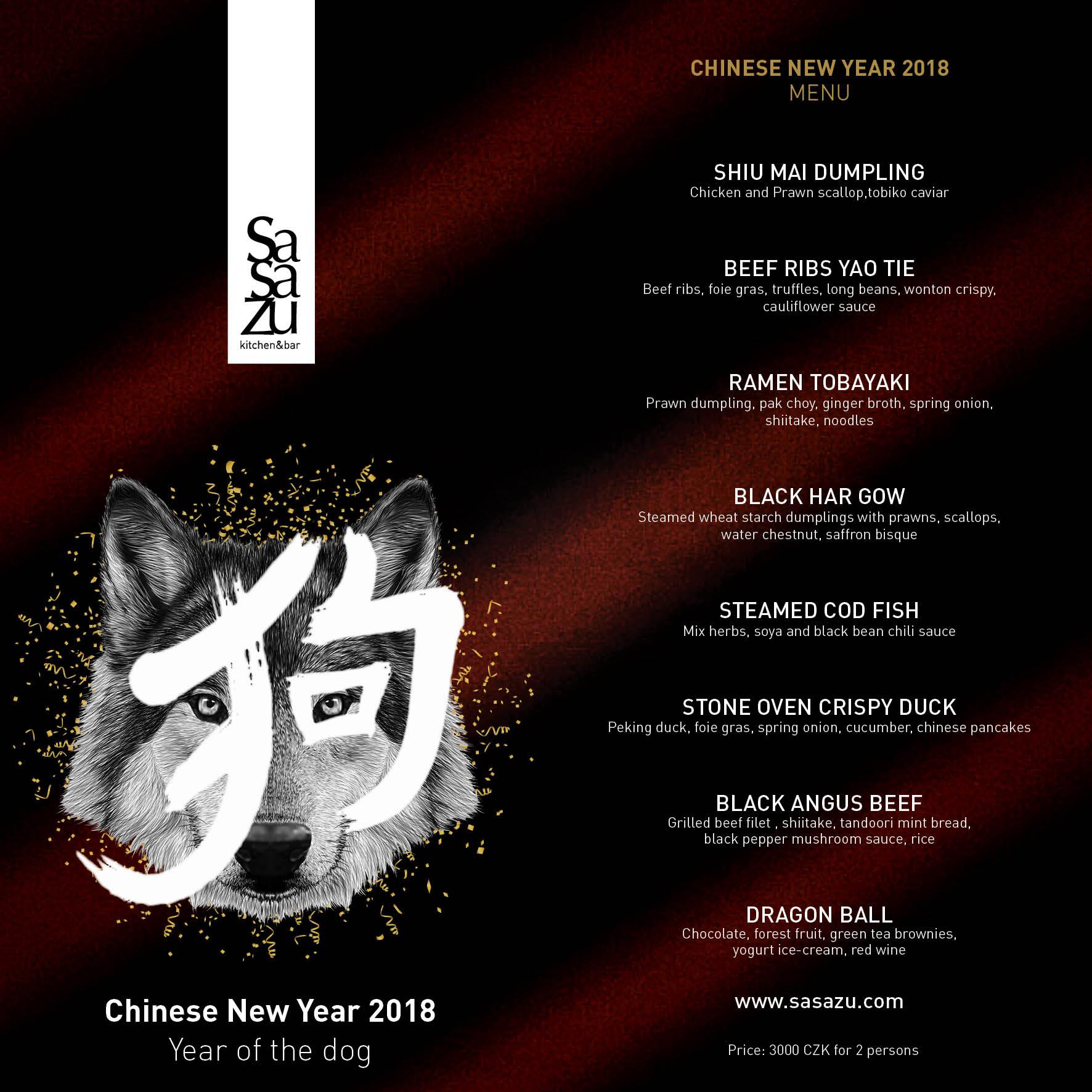 Chny menu prg