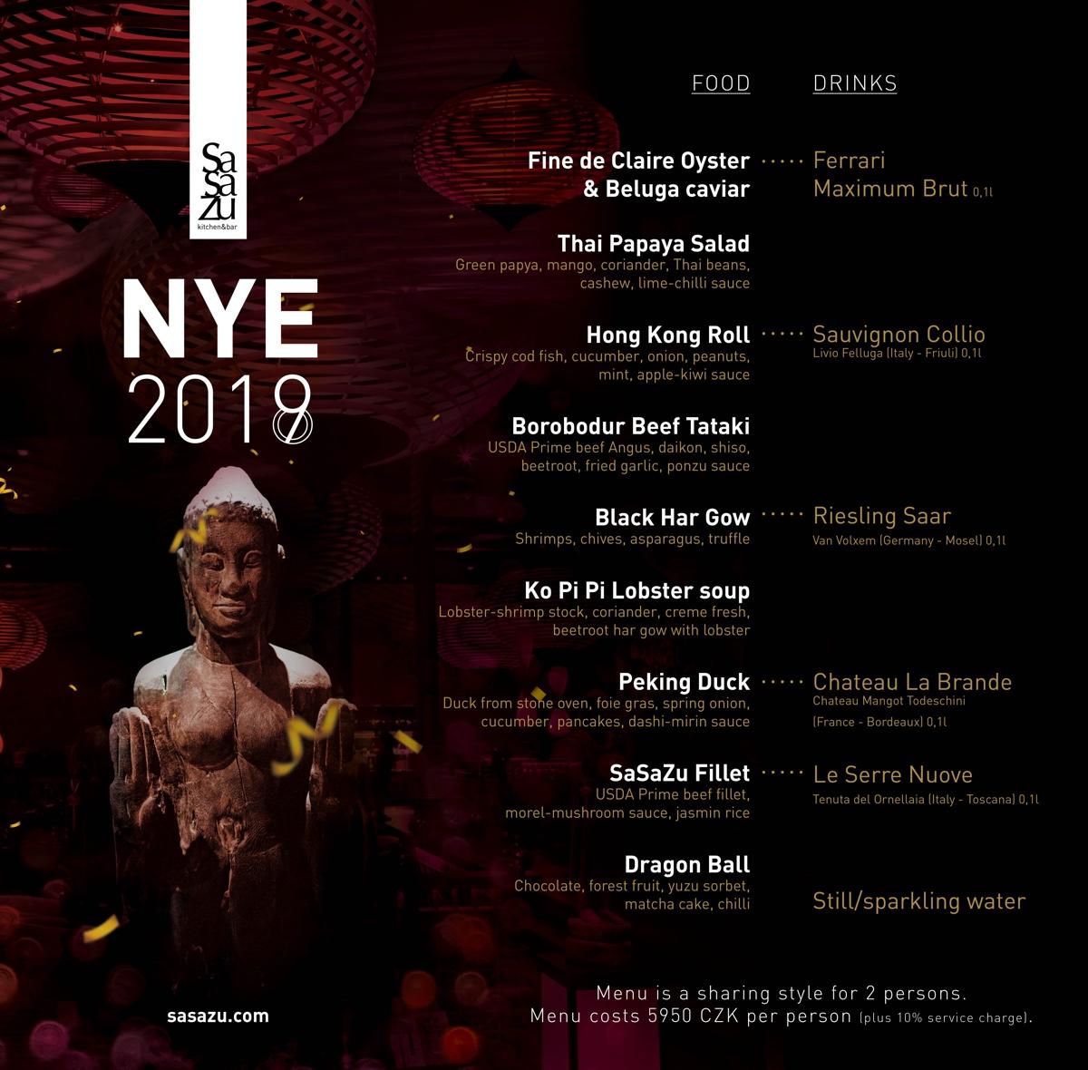 Nye menu 2019
