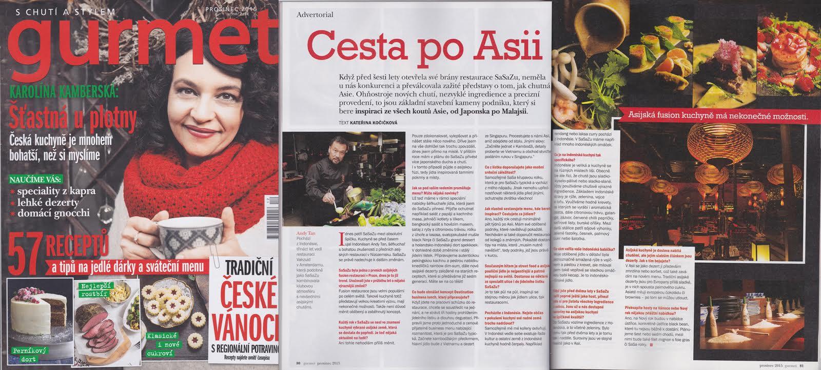 Gurmet article