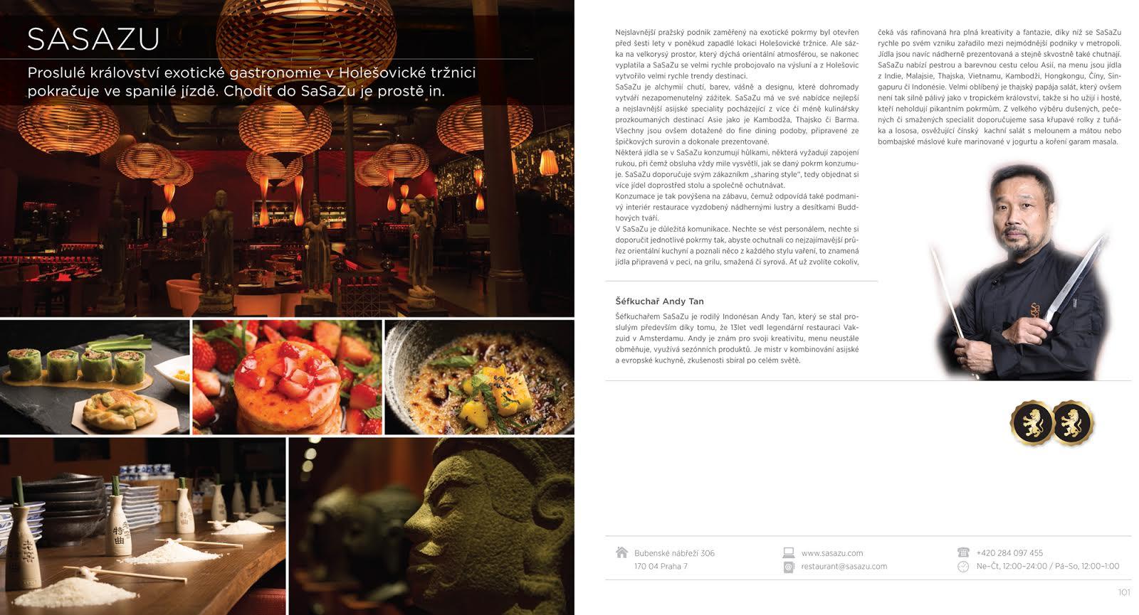 Nejlepší pražské restaurace 2016